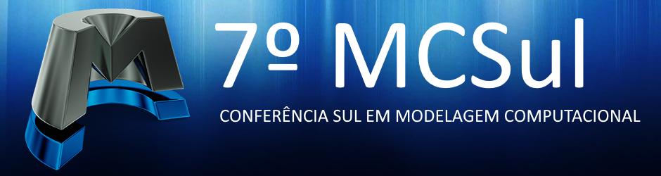 7º MCSul - CONFERÊNCIA SUL EM MODELAGEM COMPUTACIONAL